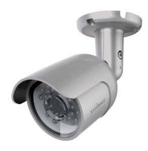 EDIMAX Day & Night Mini Outdoor Wireless IP Camera. IP66 weather proof. Includes indoor wireless receiver base station. Multi-area motion detecion. 2 Year Warranty.