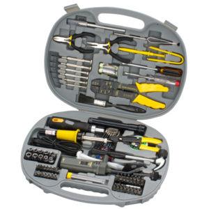 SPROTEK 145 Piece Computer Tool     Kit. Includes Tamper screw bits.