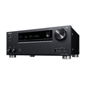 ONKYO 9.2 Channel Network A/V       Receiver. THX Certified select reference sound. Dolby Atmos or DTS:X home cinema. Chromecast built in. WiFi, Airplay & Spotify. Colour Black