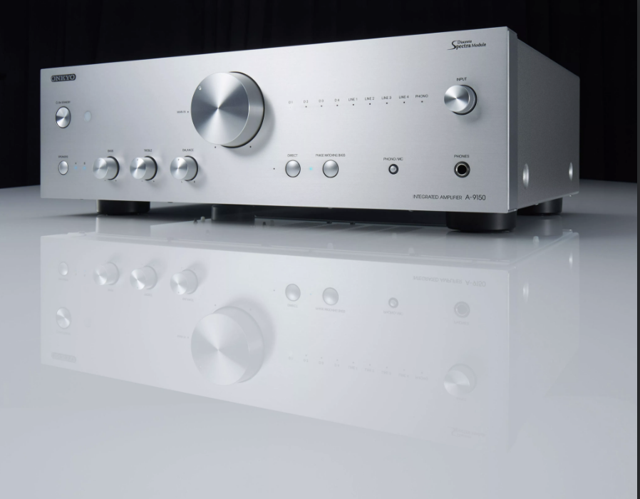 ONKYO Integrated Stereo Amplifier  High current power supply  Refined power  amplification circuit with discrete SpectraModule  Hi-grade DAC and DIDRC