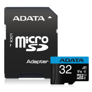 ADATA Premier microSDHC UHS-I A1 V10 Card with Adapter 32GB
